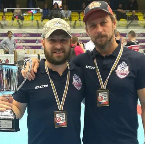 Hanák s Pláškem vyválčili z přerovského mistrovství v inline hokeji bronz