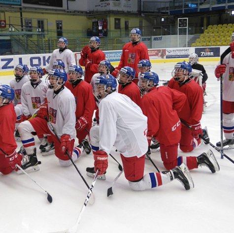 V Přerově se připravovala reprezentace U18, čeká ji Mistrovství světa na Slovensku