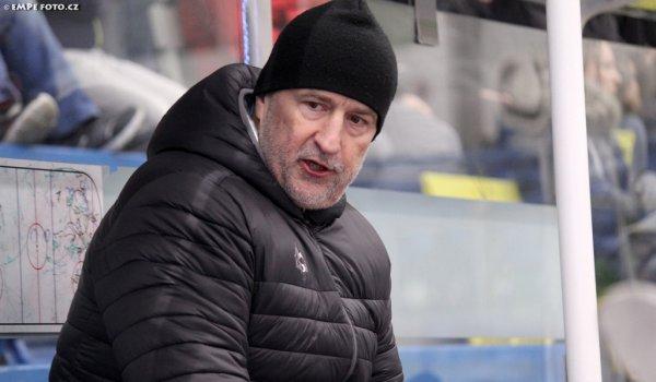 Hráče je potřeba pochválit, říká po úspěšné sezoně trenér Jiří Režnar
