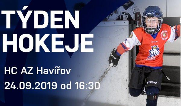 Přijďte 24. 9. na zimák na akci Týden hokeje