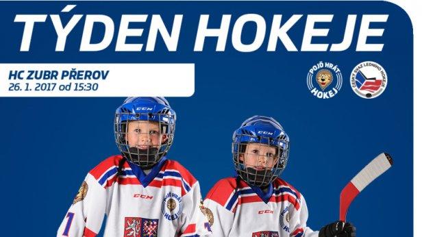 Akce Týden hokeje se uskuteční i v Přerově! Přijďte si vyzkoušet, jaké to je být hokejistou