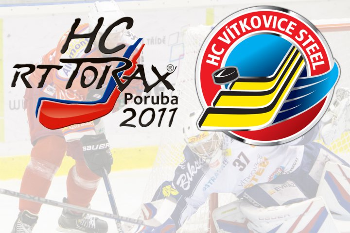 HC RT TORAX Poruba rozvinula spolupr�ci s HC V�TKOVICE STEEL a uzav�ela vz�jemn� partnerstv�