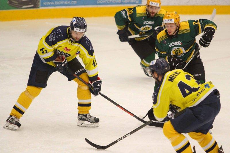Vsetín zahájí poslední čtvrtinu základní části na ledě ústeckého Slovanu