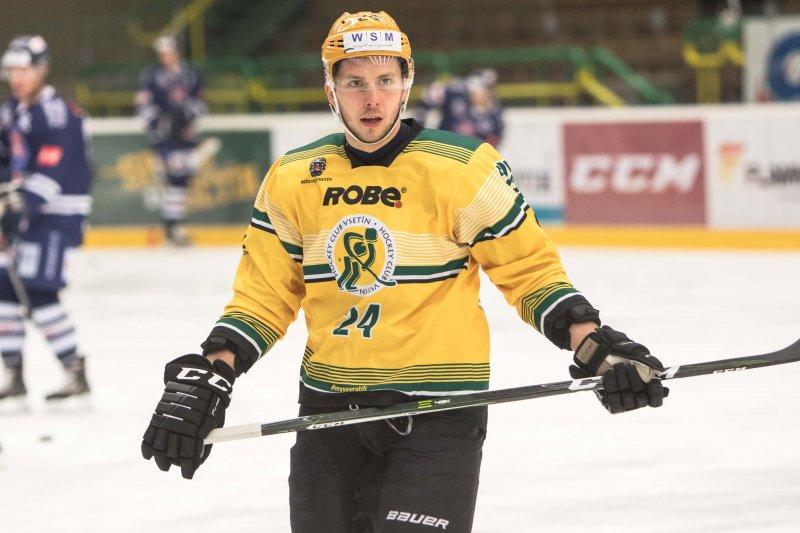Na Vsetíně jsem dostal novou chuť do hokeje, usmívá se David Březina