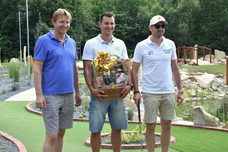Tomáš Frolo ovládl turnaj v adventure golfu