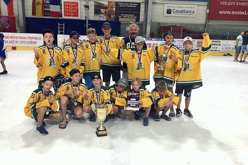 Mladší žáci ovládli mezinárodní turnaj v Letňanech