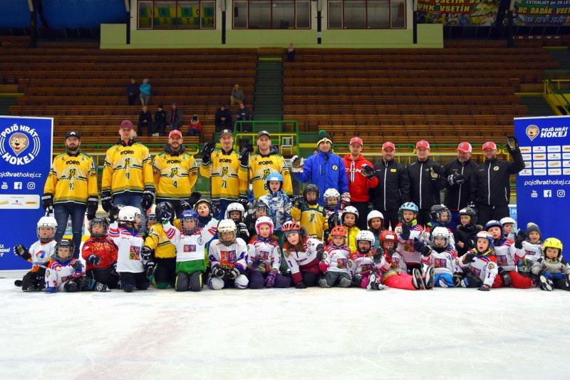 Přijďte ve čtvrtek 20. září v 17:00 na zimní stadion Na Lapači na akci Týden hokeje