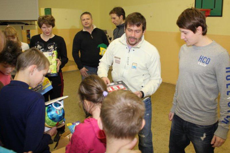 Valašský hokejový klub pomáhá dětem