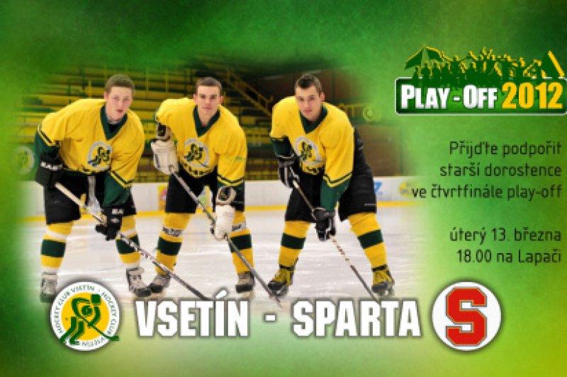 Na Lapač míří Sparta, čtvrtfinále ELSD startuje!