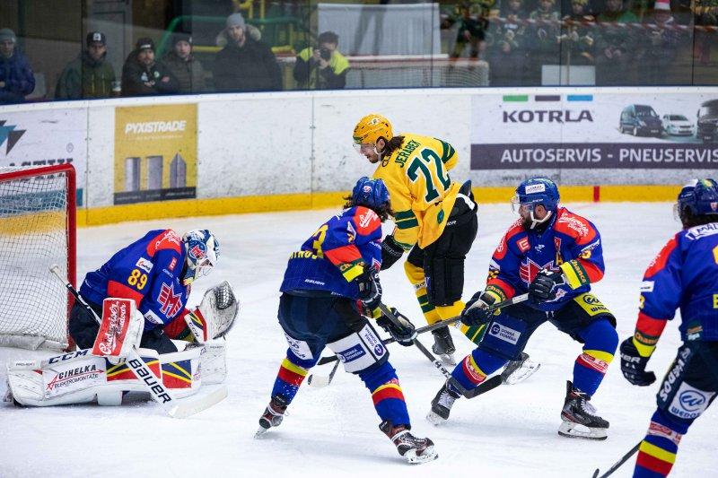 Valaši ve vynikajícím zápase přestříleli Motor, body nakonec zůstaly na jihu Čech