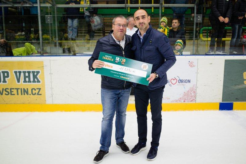 Hokejová tombola na Lapači poznala svého dalšího vítěze