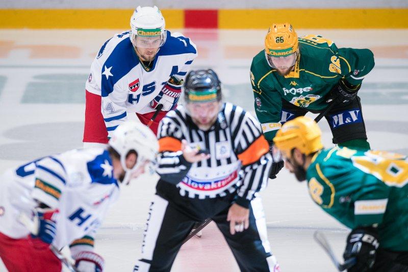 Další ligový týden zahájí Vsetín na ledě Třebíče