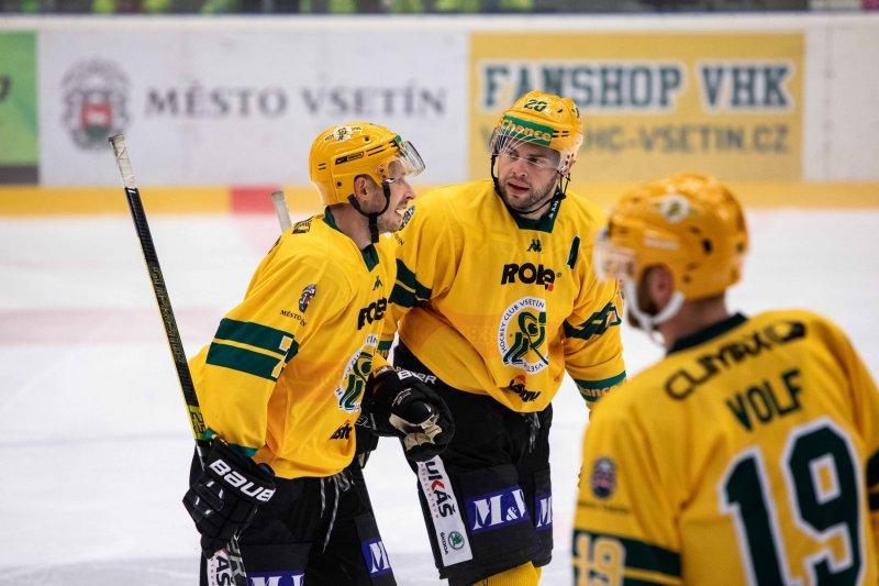 Vsetínští hokejisté míří do Kadaně. V cestě za dalšími body stojí Trhači