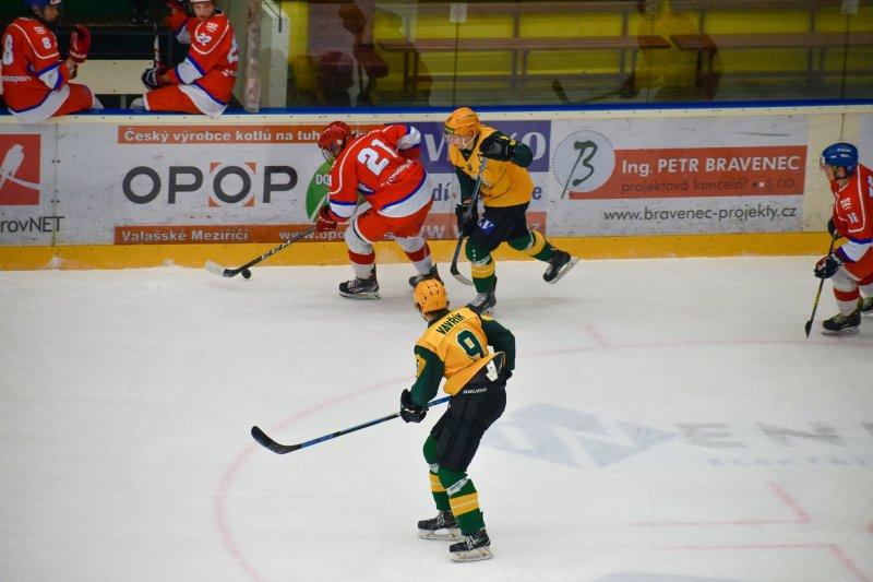Po pauze se vrací také mládežnický hokej. Juniorka se může přiblížit Přerovu