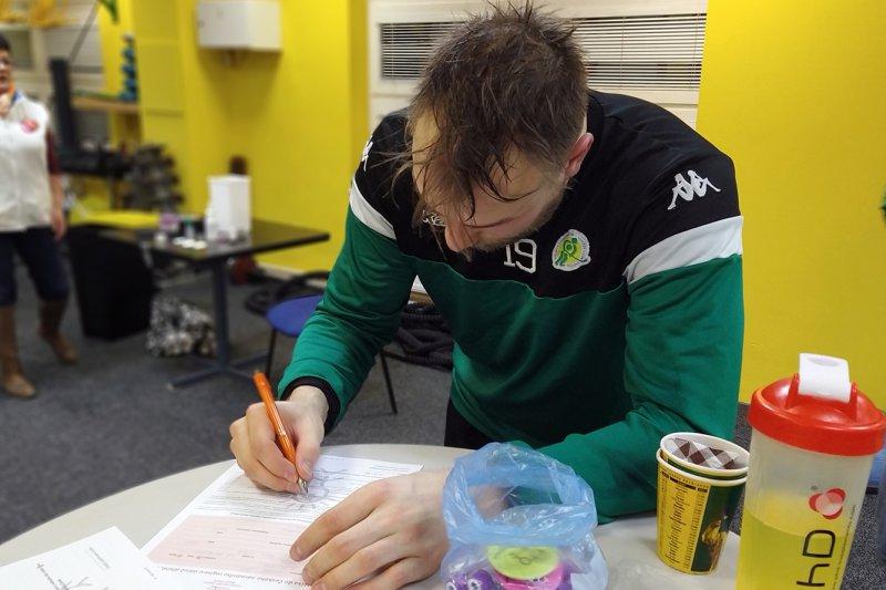 OBRAZEM: Hokej na dřeň přivedl do registru další potenciální dárce, za pět let již přes 224