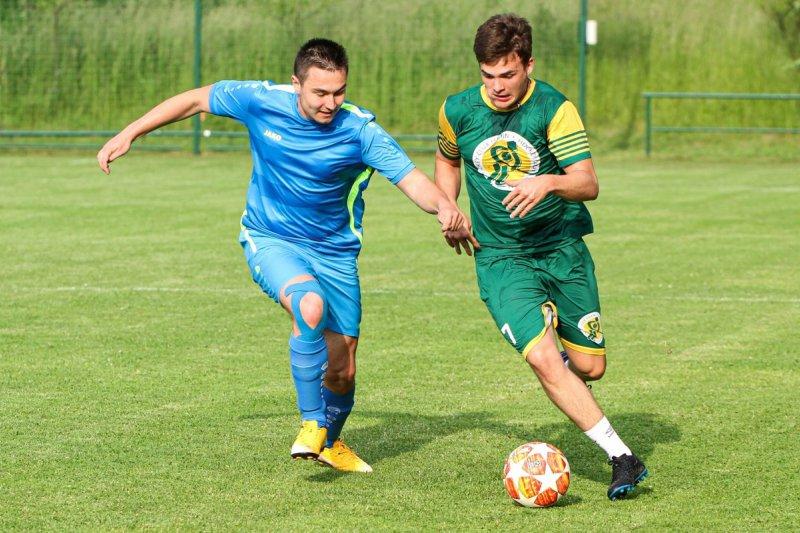 OBRAZEM: Valaši odehráli fotbalový zápas s Ústím u Vsetína