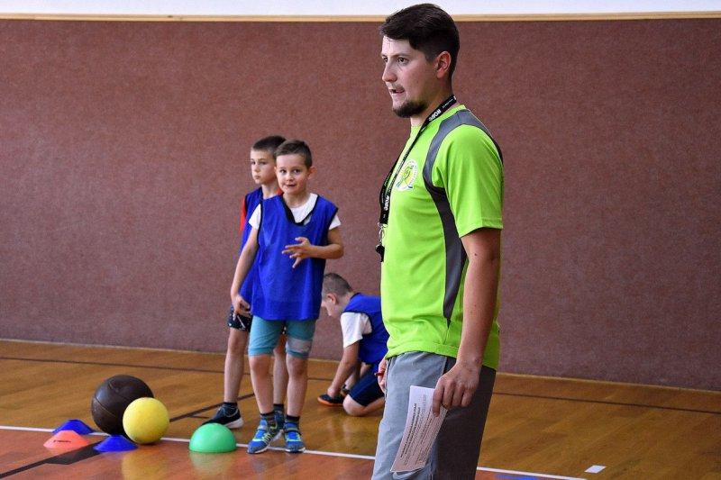 U těchto dětí je důležité rozvíjet všeobecný předpoklad pro sport, říká Jan Podešva