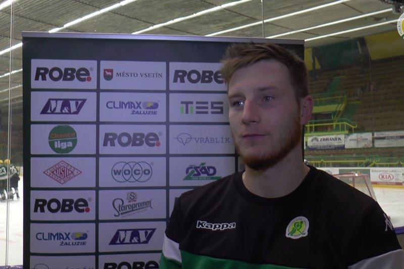 VIDEO: Nevyšla nám první třetina. Hrát před domácími fanoušky bylo úžasné, říká Tomáš Pitule