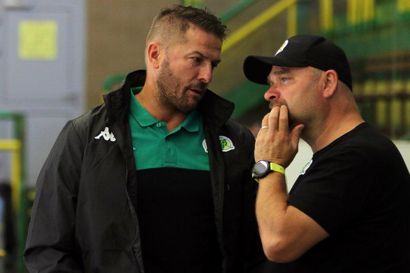 Zápas měl tempo, byl jsem mile překvapený, říká Jan Srdínko o premiéře na střídačce Vsetína