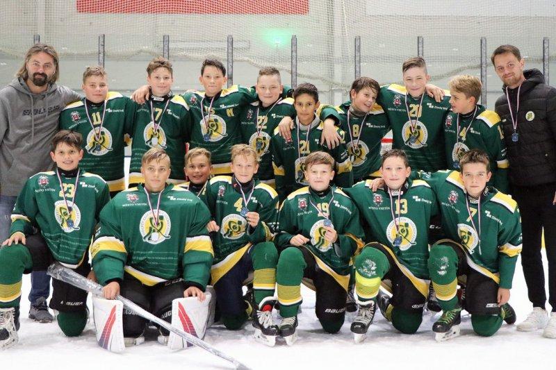 OBRAZEM: Vsetínští mladíci vybojovali na turnaji v Ostravě třetí místo