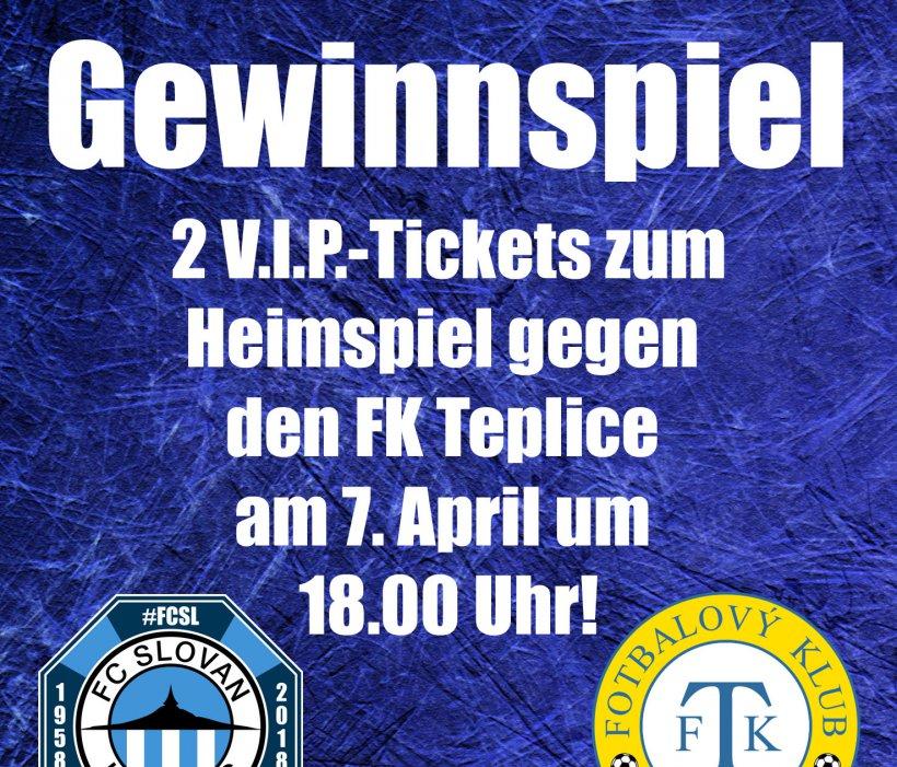 V.I.P.-Tickets für das Heimspiel gegen den FK Teplice gewinnen - so könnt ihr teilnehmen