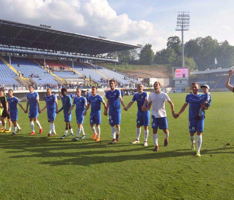 Von den eigenen Fans mit einem Sieg verabschiedet - 1:0 gegen Bohemians 1905