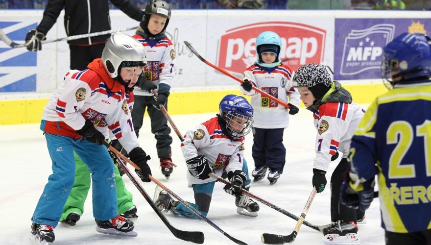 Přijďte ve čtvrtek 21. září do přerovské MEO Arény na akci Týden hokeje
