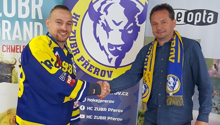 Přerov hlásí velkou posilu! Dres týmu Zubrů znovu oblékne brankář Juraj Šimboch