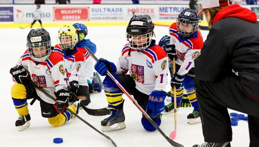 Zábava na ledě! Přijďte v úterý 24. září v 16:30 do MEO Arény na akci Týden hokeje
