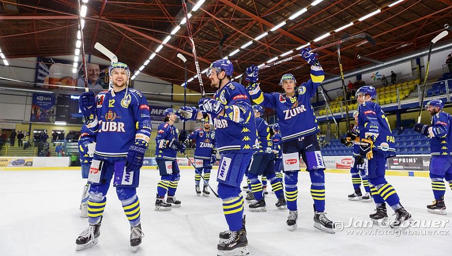 Zubři poskočili v žebříčku TOP hokejových klubů z Evropy, nyní jim patří 170. místo