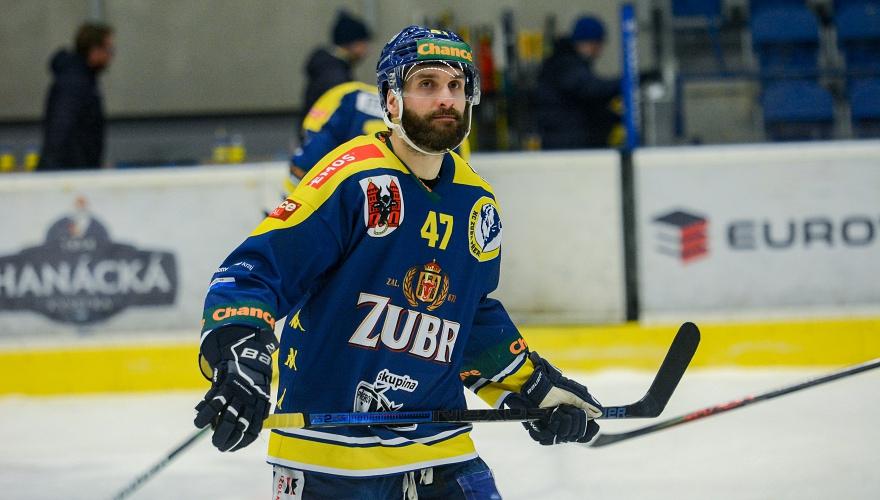Služebně nejstarší Zubr dosáhl milníku, Jiří Goiš odehrál v sobotu 500. zápas za MEO