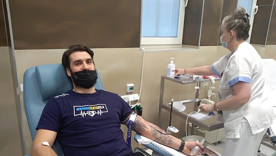 Zubři v přerovské nemocnici darovali krev. Výborná spolupráce, kvitovala vrchní sestra
