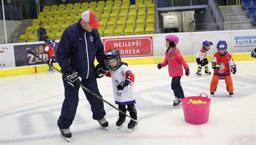 Zábava na ledě! Přijďte ve čtvrtek 23. ledna v 16:30 do MEO Arény na akci Týden hokeje