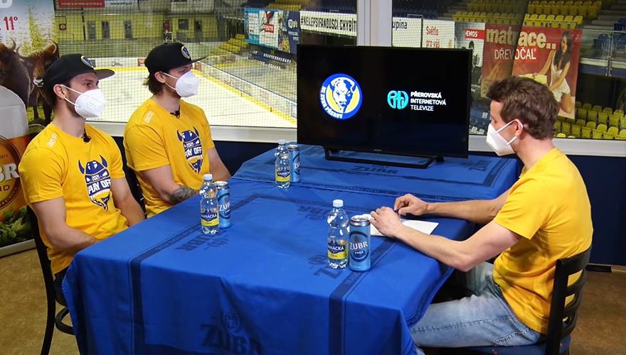 VIDEO: Zubří online rozhovory před play-off Chance ligy si můžete pustit ze záznamu