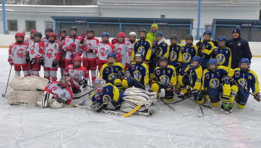 Rýmařovský Winter Classic: Zubři si to v přátelském utkání rozdali s Olomoucí