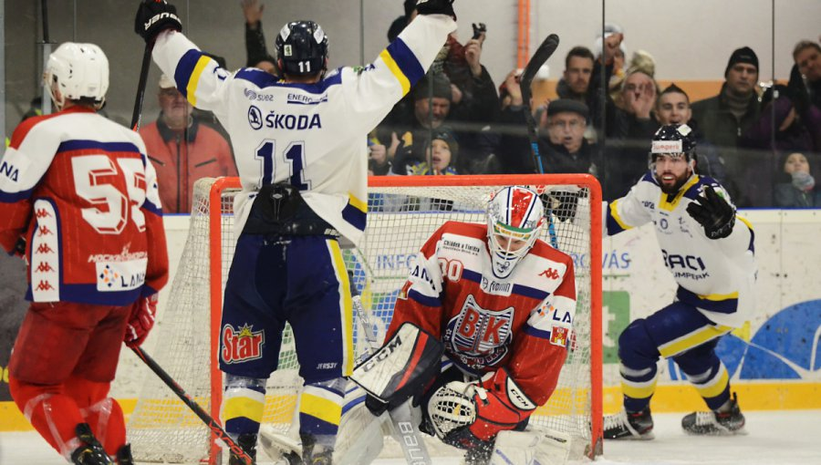 I podruhé v sezóně dokázali doma Draci porazit Havlíčkův Brod jasně 6:1