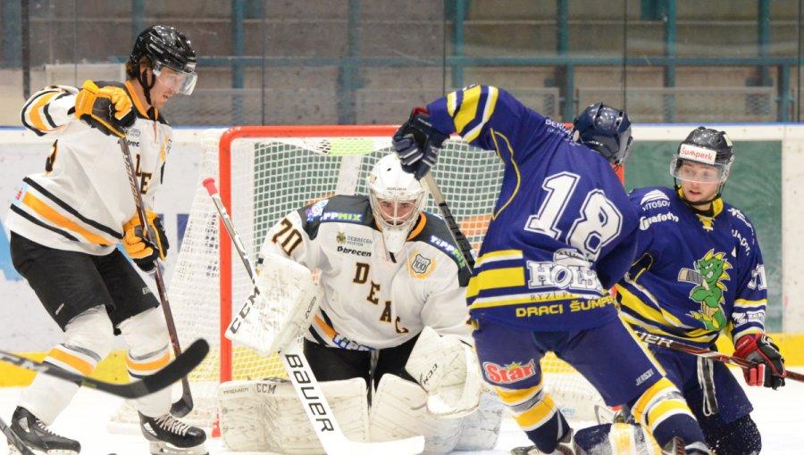 Vítězný závěr turnaje, Draci porazili Debrecen 5:3