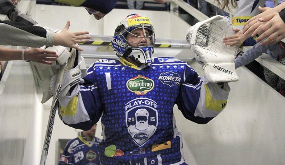 a384e8fa16217 VIDEO: Hokejisté Komety ukončili letošní sezónu na rozlučce se svými  fanoušky