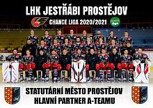 Poděkování Statutárnímu městu Prostějov za poskytnuté dotace v roce 2020