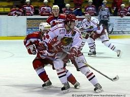 Michal Vymazal v útočné akci.