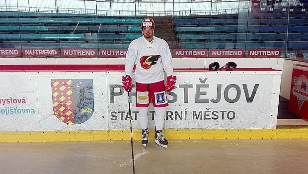 Bylo to docela náročné, jelikož jsem přes léto nebyl vůbec na ledě, hodnotí své první tréninky Marek Račuk