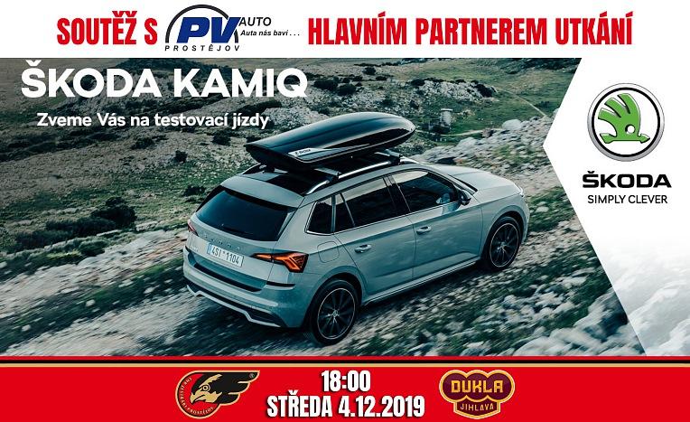 Soutěž s PV-Auto Prostějov, hlavním partnerem utkání