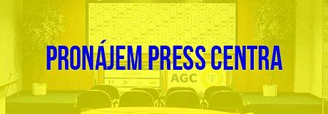 Pronájem press centra