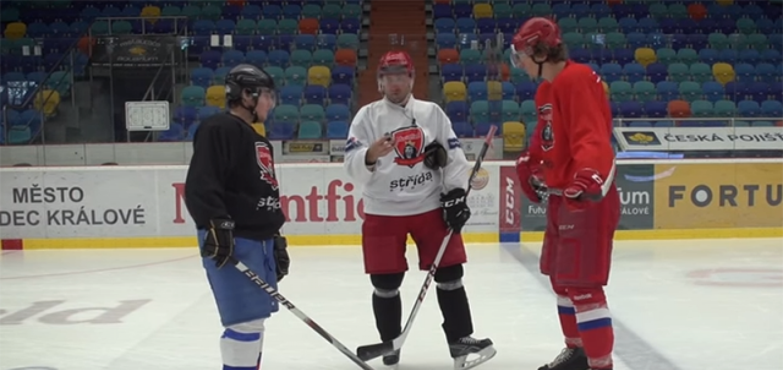 1d84d791b1840 Fortuna Čech Challenge – hokejová lekce Jaroslava Bednáře ...