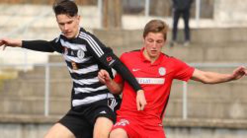 U19: Z řady šancí se ujala jediná, dorost tak s Pardubicemi remizoval