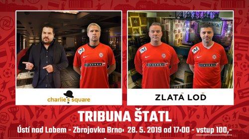 Pojď fandit s legendami Zbrojovky na Tribunu Štatl!