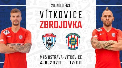 Zbrojovka v oslabení vydřela výhru ve Vítkovicích, rozhodl Fousek!