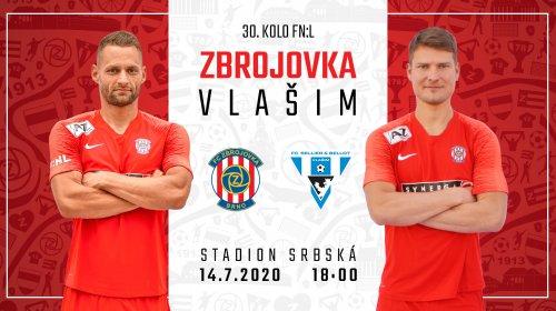 VIDEO: V posledním utkání FNL přivítáme v úterý Vlašim!