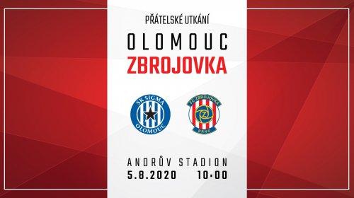 První letní výhra - Zbrojovka zvítězila v Olomouci 2:0