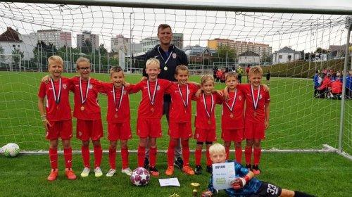U9: Zbrojovka ovládla turnaj v Hradci Králové